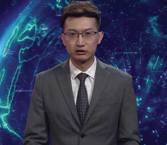 El primer presentador de television generado por Inteligencia Artificial