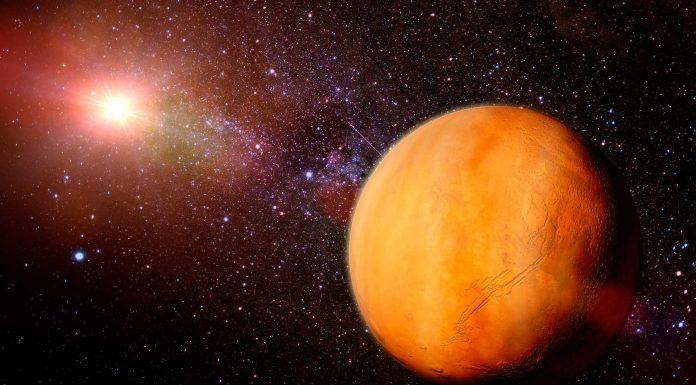 Oxígeno en Marte