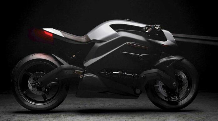 Arc Vector | Una moto eléctrica futurista de 100.000 euros