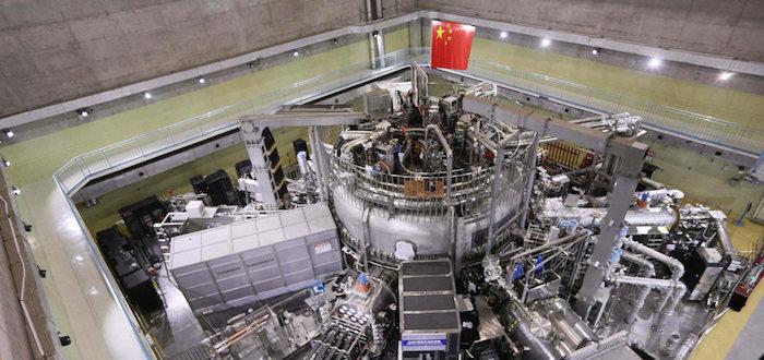 Récord de temperatura en un reactor de fusión