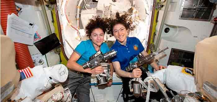 Exploración espacial mujeres