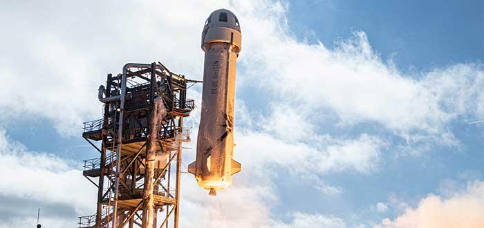 Viajes al Espacio blue-origin-New-Shepard