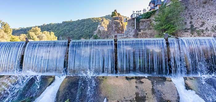 energía hidráulica hidroeléctrica