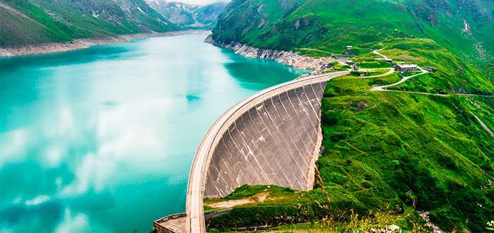 energía hidráulica represa