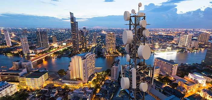 Antenas ciudad