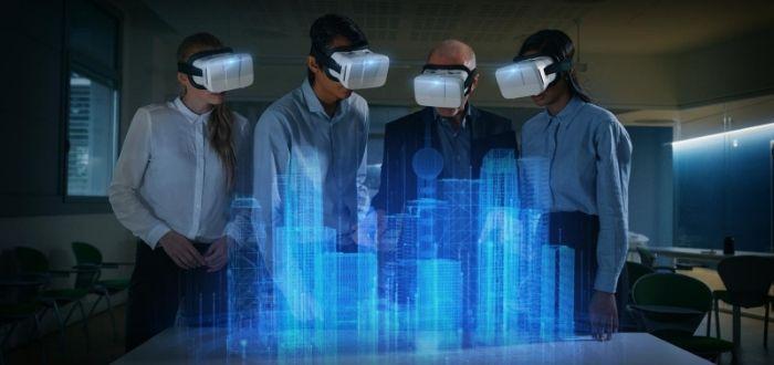 Uso de la realidad aumentada para la construcción