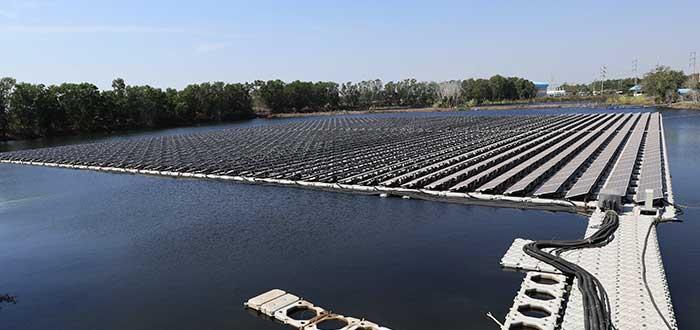 Fotovoltaica flotante futuro