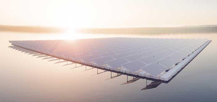 Fotovoltaica flotante mundo