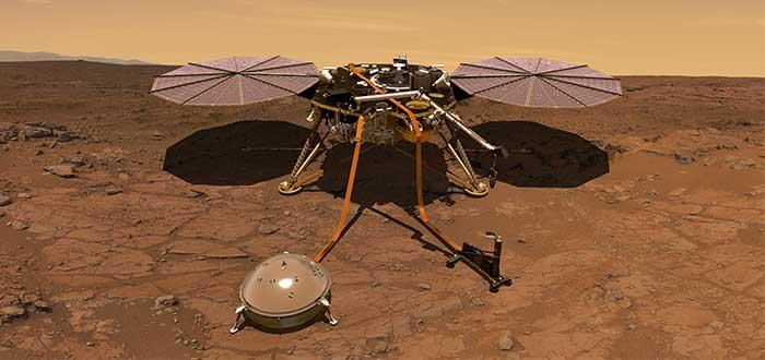 Misión en Marte insight NASA - JPL-Caltech