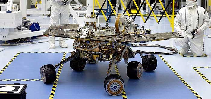 Misiones a Marte - Spirit - NASA