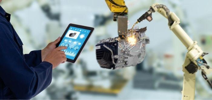 Uso de la robótica colaborativa en la industria 4.0