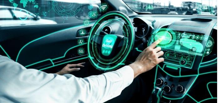 Sensores activos en carro automano