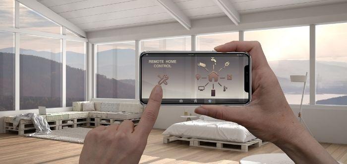 Regulación de persianas desde un smartphone