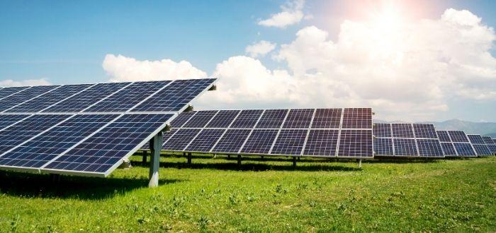 Parque solar o instalación fotovoltaica