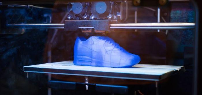 Impresión de zapatos en impresora 4D