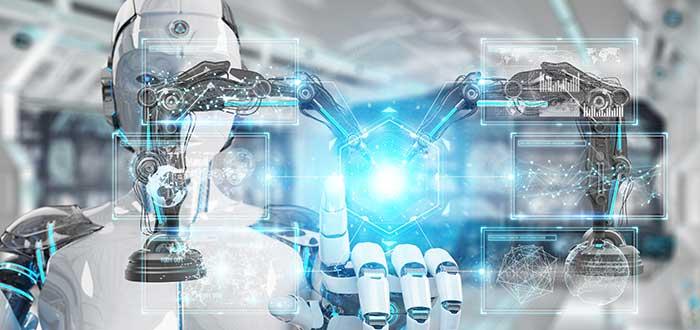 Robot futurista