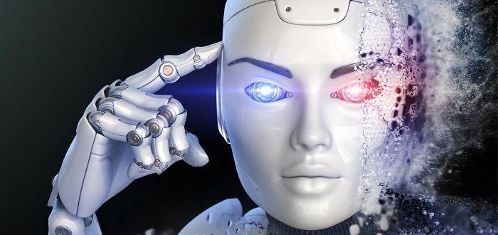 Prototipo de robot con características humanas