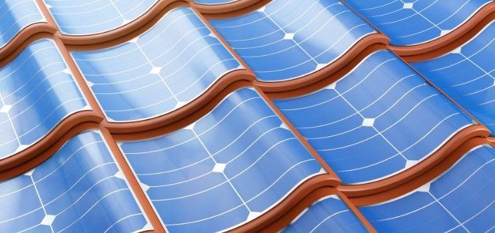 Tejas de cristal solares