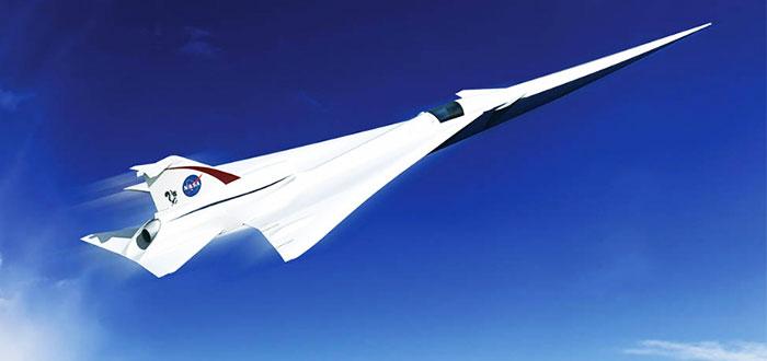 Avión supersónico de la Nasa