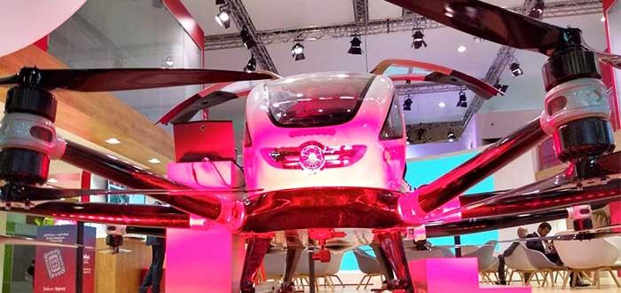 Transporte del futuro: Ehang taxi dron