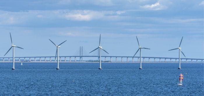 Aerogeneradores de energía eólica marina