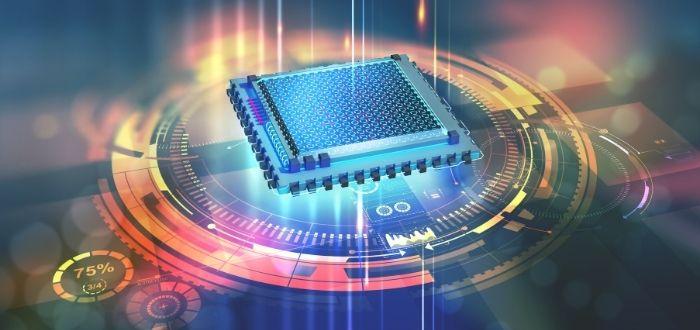 Procesador de un ordenador cuántico