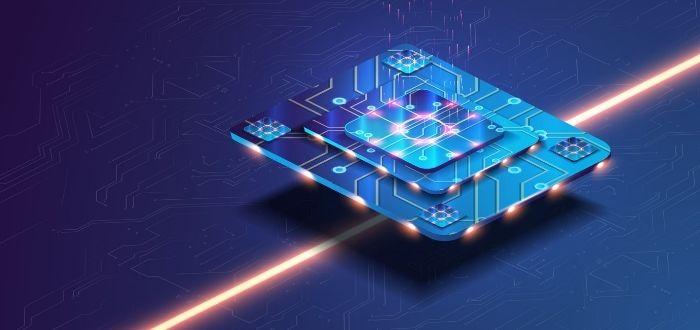 Procesador de una computadora cuántica
