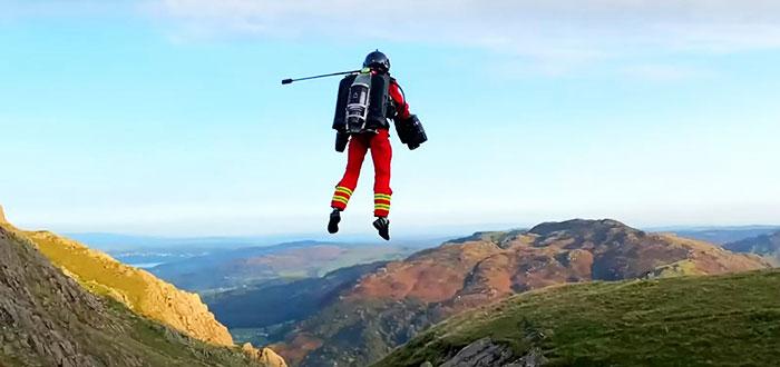 Transporte del futuro: trajes voladores