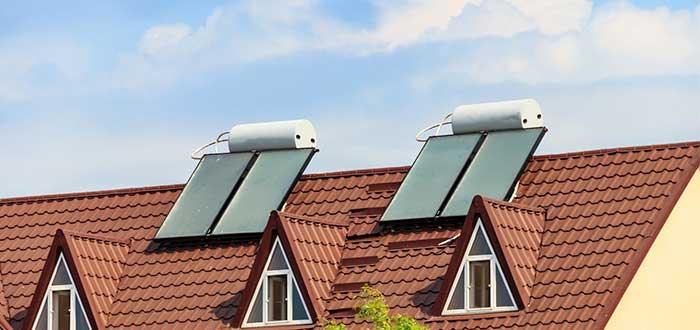 Tipos de paneles solares Térmico