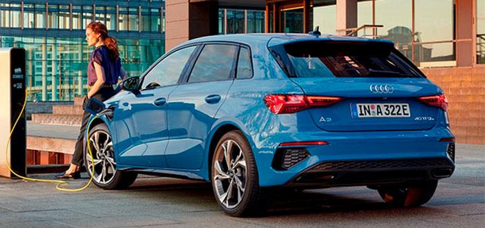 Coches híbridos eléctricos - Audi A3