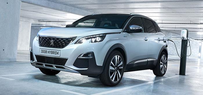 Coches híbridos eléctricos - Peugeot 3008