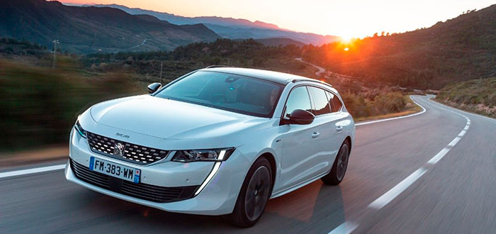 Coches híbridos eléctricos - Peugeot 508