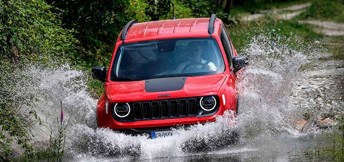 Coches híbridos eléctricos - jeep