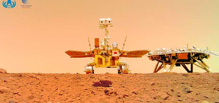 Planes de china para colonizar Marte
