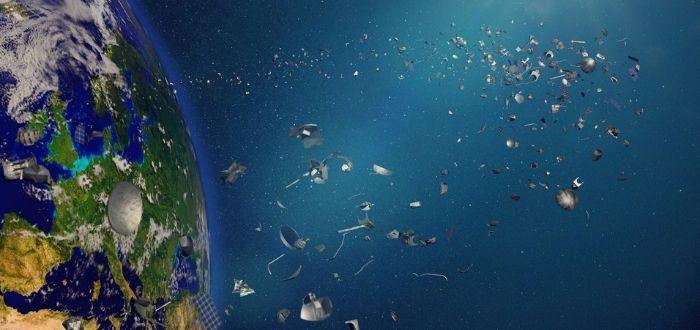 Desechos contaminantes en el espacio   Basura espacial