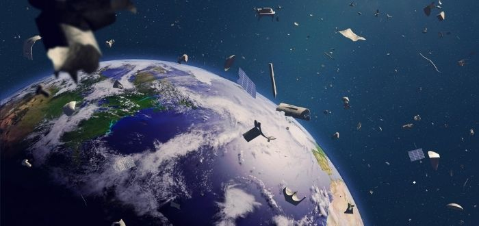 Objetos inútiles en la órbita de la tierra   Basura espacial