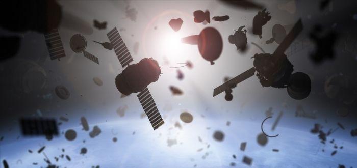 Desechos en el espacio exterior