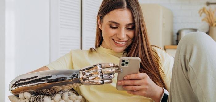 Brazo mejorado por robótica