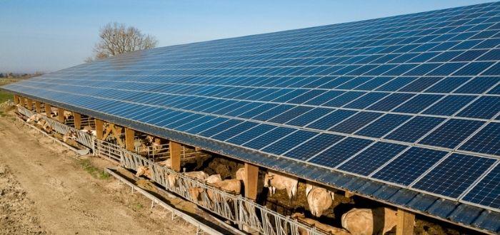Uso de celdas solares