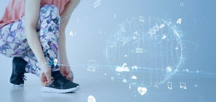 Calzado deportivo con tecnología