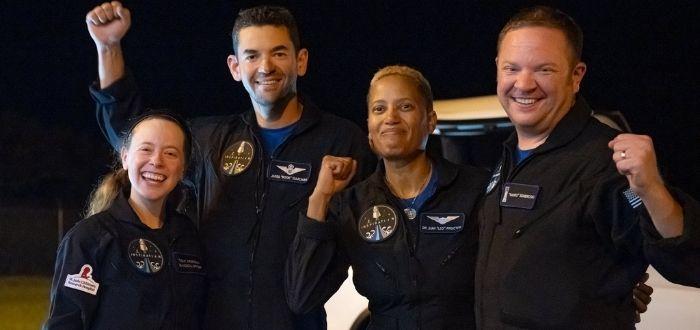 Viajeros al espacio de SpaceX