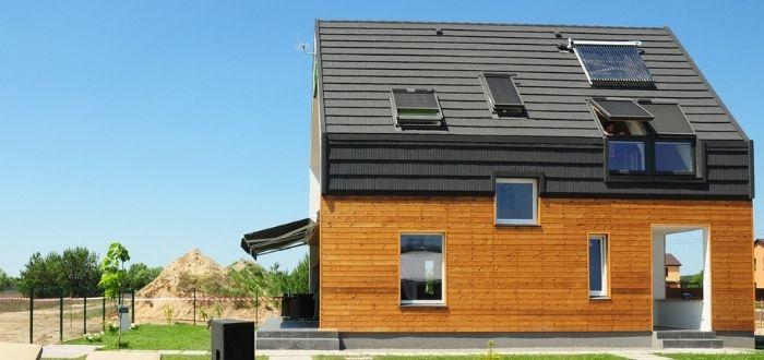 Instalación de energía del Sol en vivienda