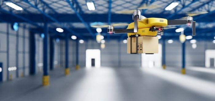 Drone en puestos de trabajo del futuro