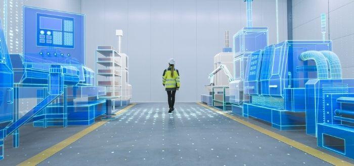 Trabajador de la industria 4.0   Internet industrial de las cosas